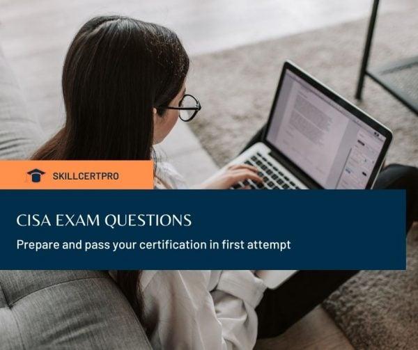 CISA exam questions