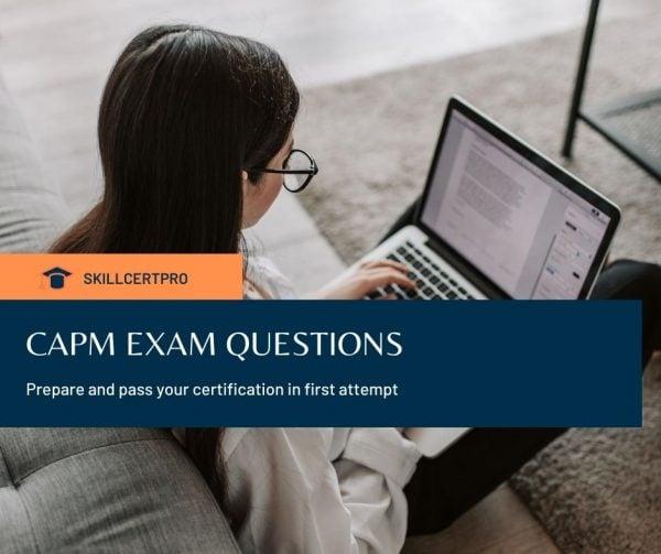CAPM exam questions
