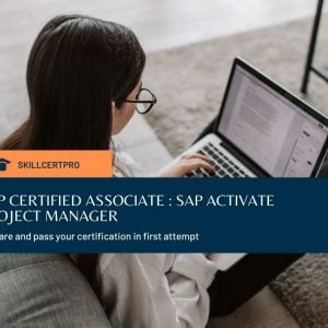 SAP Activate Manager C_ACTIVATE12 Exam Questions