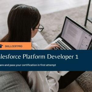 Salesforce Platform Developer 1 Exam Questions 2021