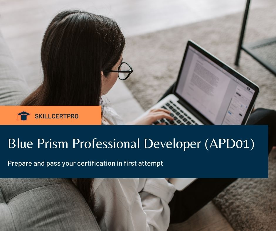 Blue Prism Professional Developer (APD01) Exam Questions