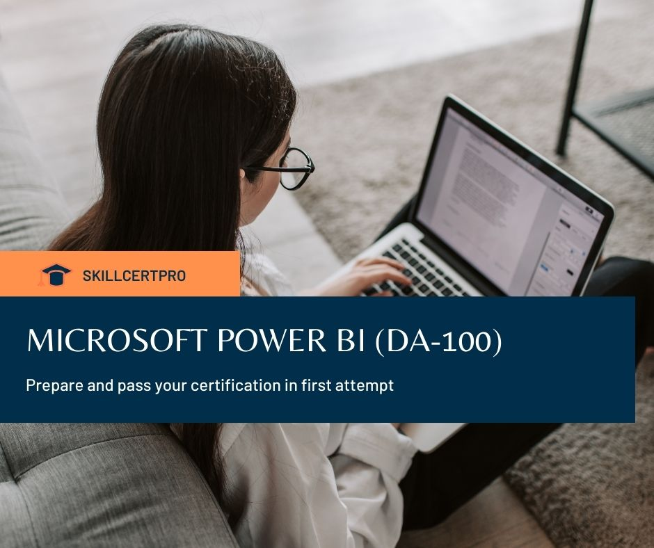 MICROSOFT POWER BI (DA-100) Exam Questions