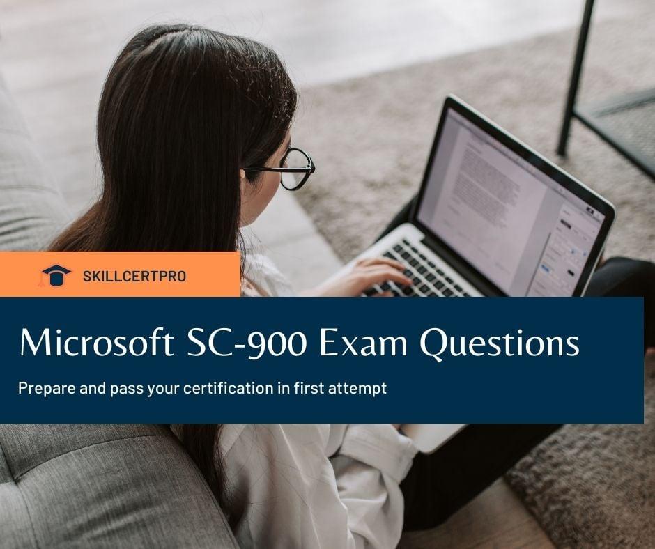 Microsoft SC-900 Exam Questions