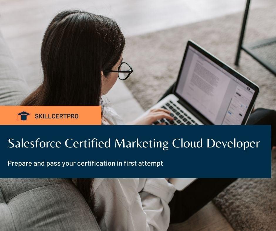 Salesforce Marketing Cloud Developer Exam Questions